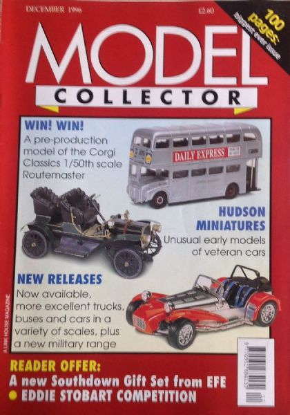ORIGINAL MODEL COLLECTOR MAGAZINE December 1996